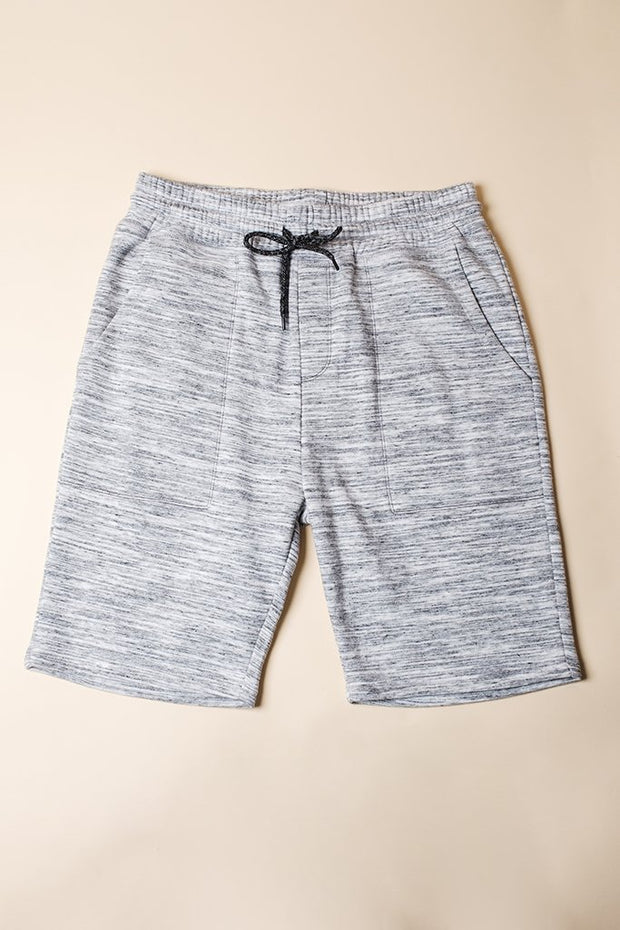 Brooklyn Cloth Grey Jogger Shorts for Men