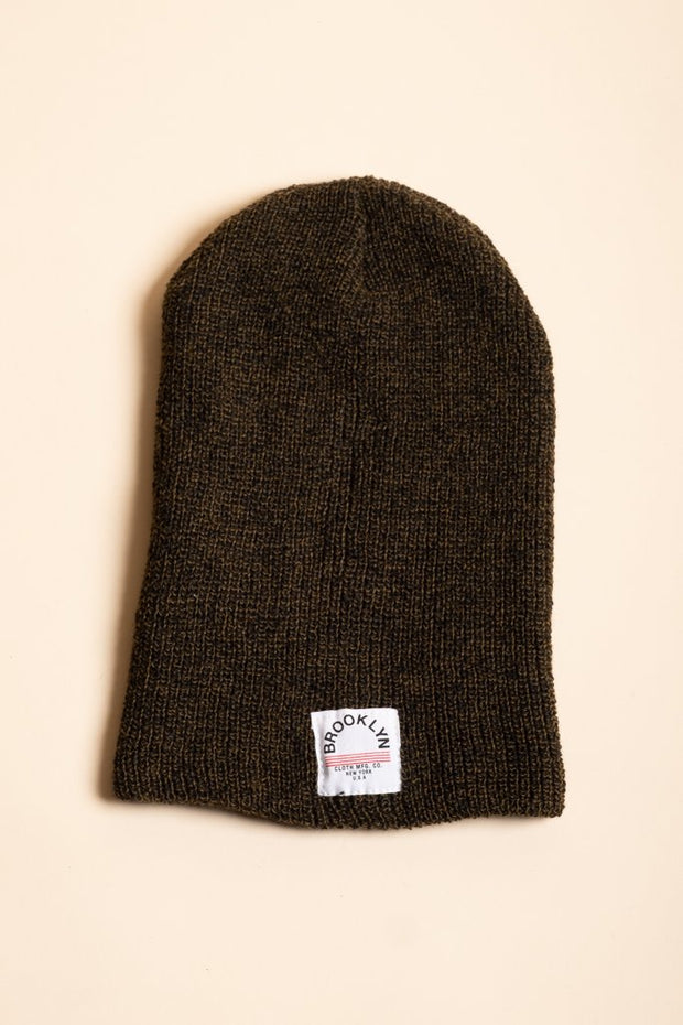 Olive Green Beanie for men