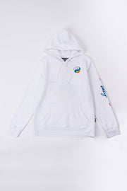 White Good Vibes Only Hoodie