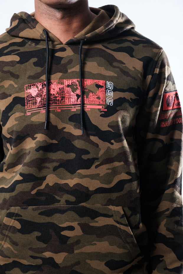 Camo Hoodie for men by Brooklyn Cloth