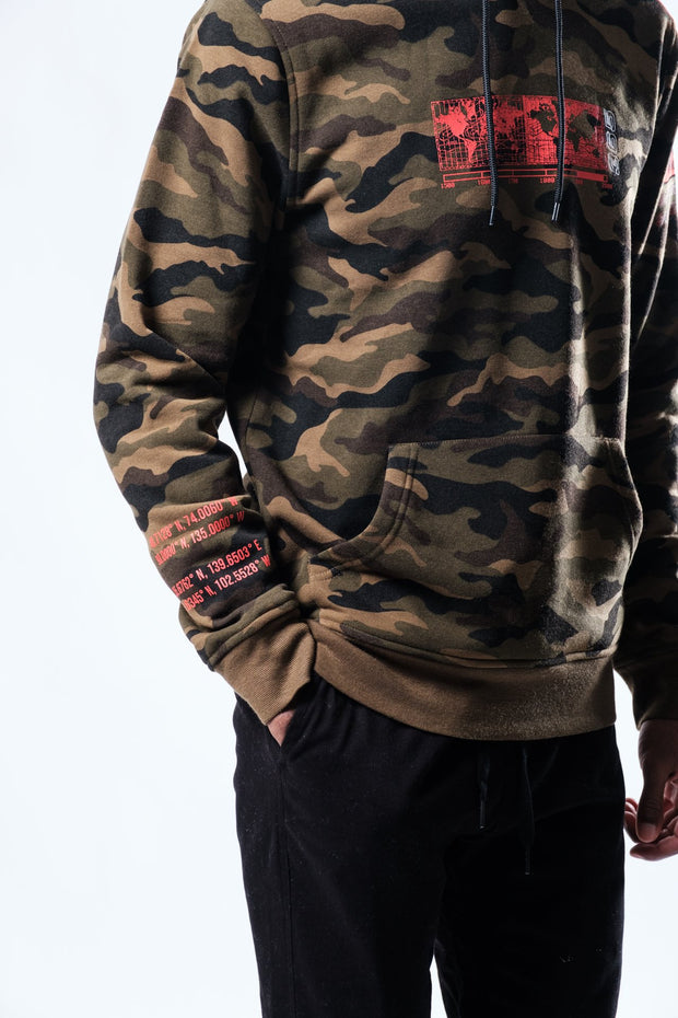 Red Camo Earth Day Hoodie