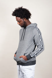 Men's Black Marl Brooklyn Hoodie