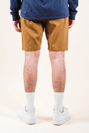 Brooklyn Cloth Camel Twill Jogger Shorts