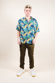 Brooklyn Cloth Parrot Print Woven Shirt