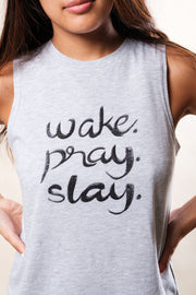 Wake Pray Slay Women's Tank Top