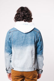 Dip Dye Denim Jacket