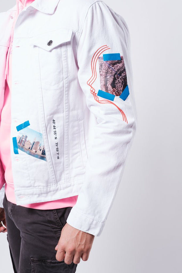 Heads in the Clouds Denim Jacket