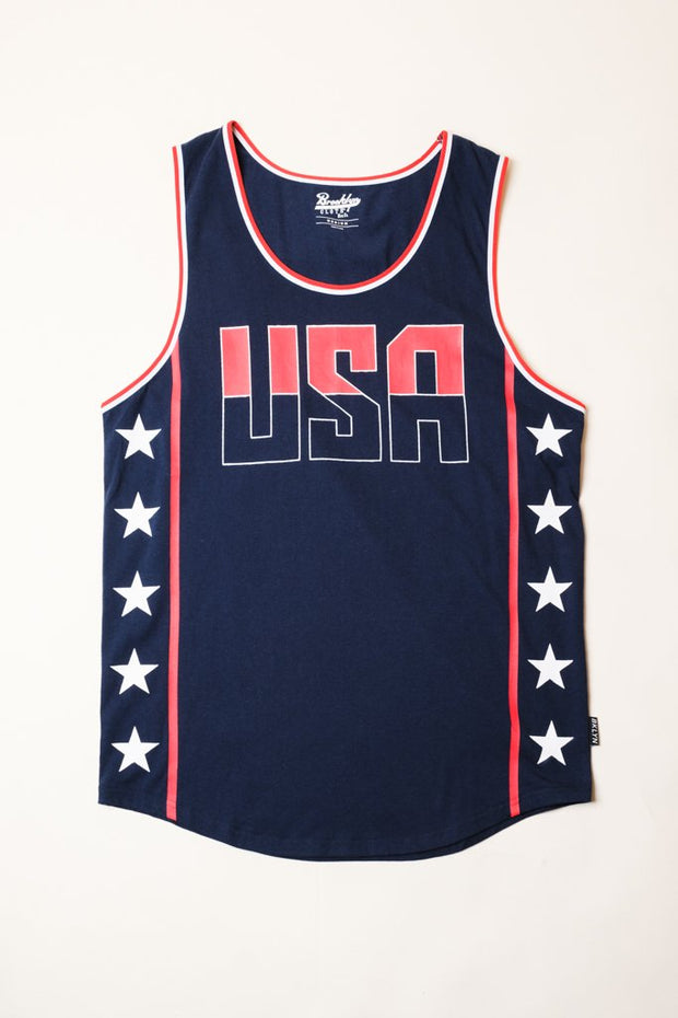 USA Navy Tank Top