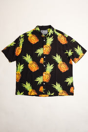 Large Pineapple print Woven Shirt