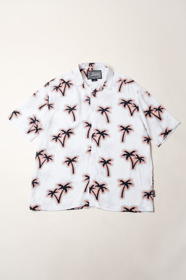 Pride Palm Tree Woven Shirt