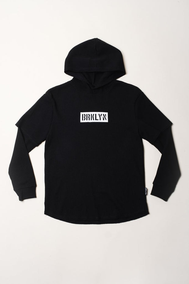 Boys Black Brooklyn Thermal