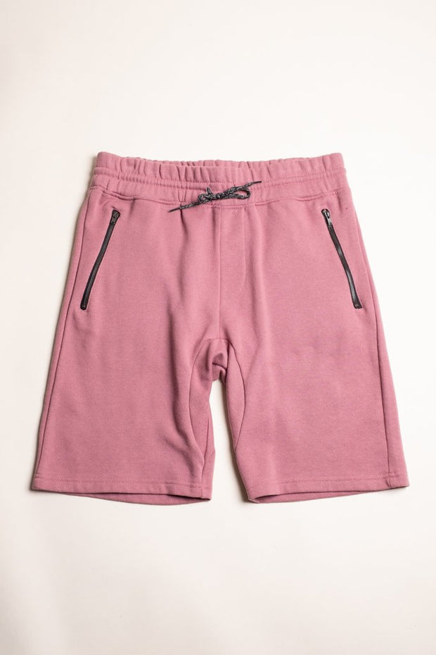 Dark Pink Basic Color Shorts