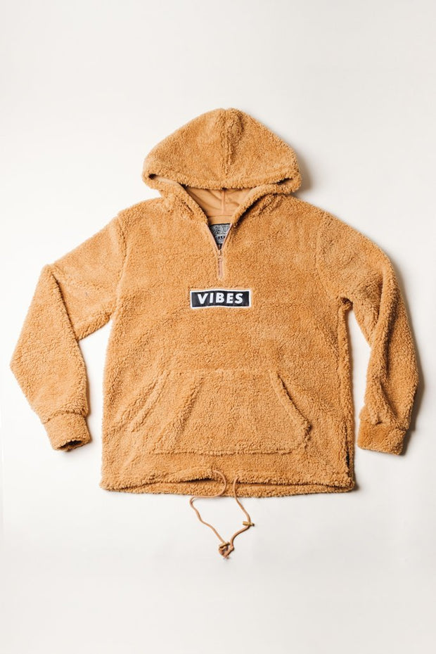 Warm Sherpa Hoodie in Brown for Men