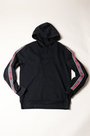 New York Black Hoodie for Men