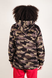 Brooklyn Cloth Men's Camo Sherpa Hoodie