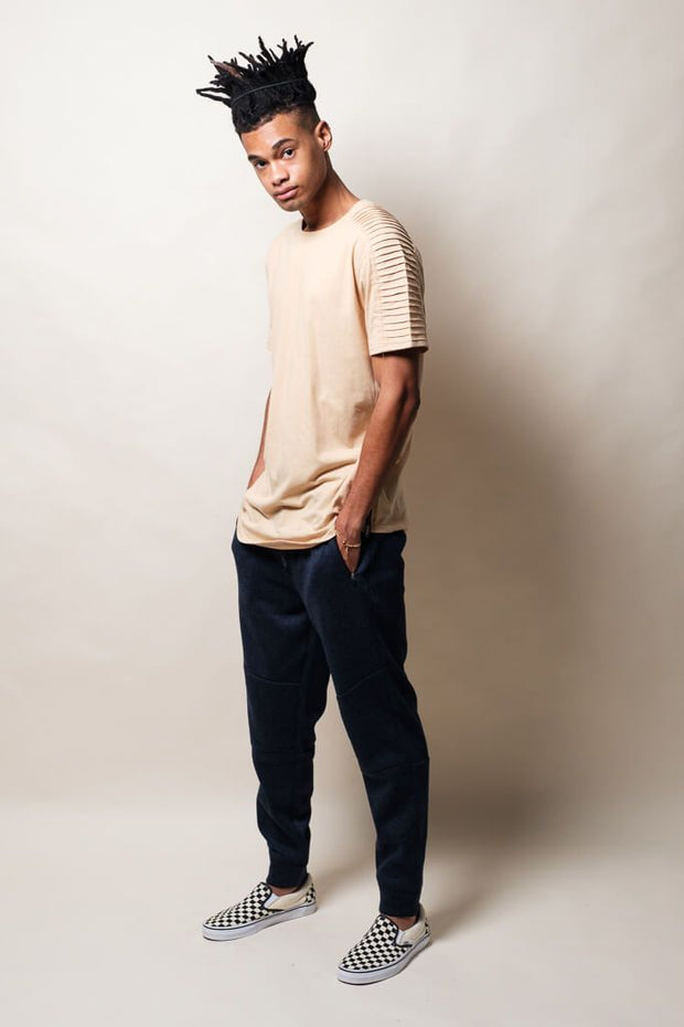 Men's Ocean Marl Cozy Knit Jogger Pants