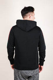 Brooklyn Cloth Black Savage Checkered Hoodie