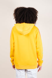 Men's Yellow Hype Checkered Hoodie