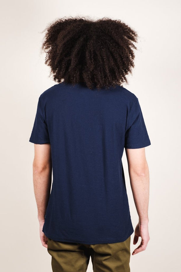 Brooklyn Cloth Navy Brooklyn Printed Tee for Men