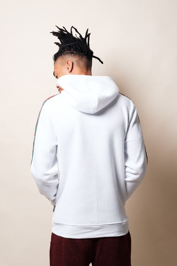 Brooklyn Cloth White Hustle Hoodie