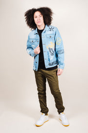 Brooklyn Cloth Graffiti Denim Jacket for Men