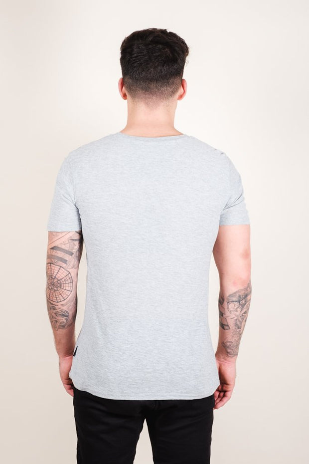 Brooklyn Cloth Heather Grey Brooklyn Printed Tee