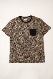 Leopard Printed Tee for Men