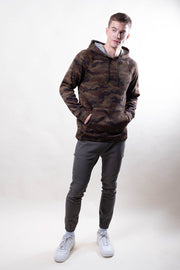 Brooklyn Cloth Camo Cozy Knit Hoodie