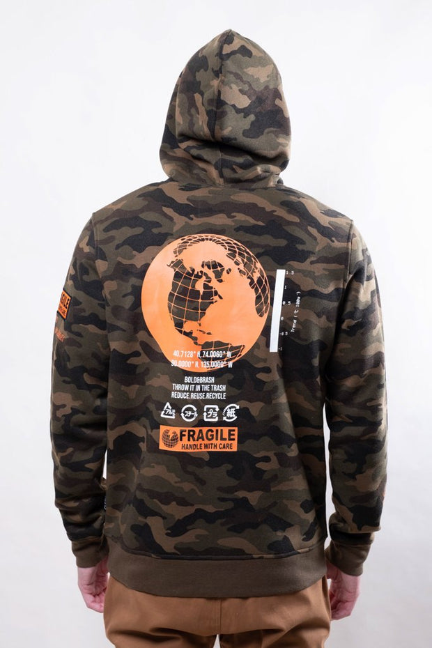 Brooklyn Cloth Camo Earth Day Hoodie