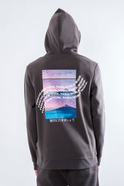 Dusty Black Trip WorldWide Hoodie