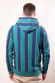 Brooklyn Cloth Green Vertical Stripe Hoodie