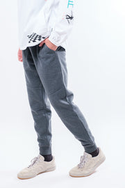 Charcoal Fleece Jogger Pants
