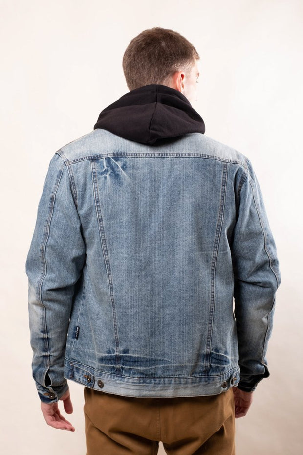 Flannel Lined Denim Jacket