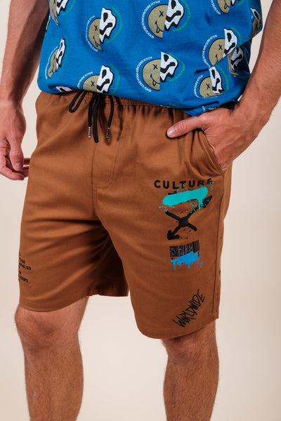 Brooklyn Cloth Clover Print Woven Shirt for Men