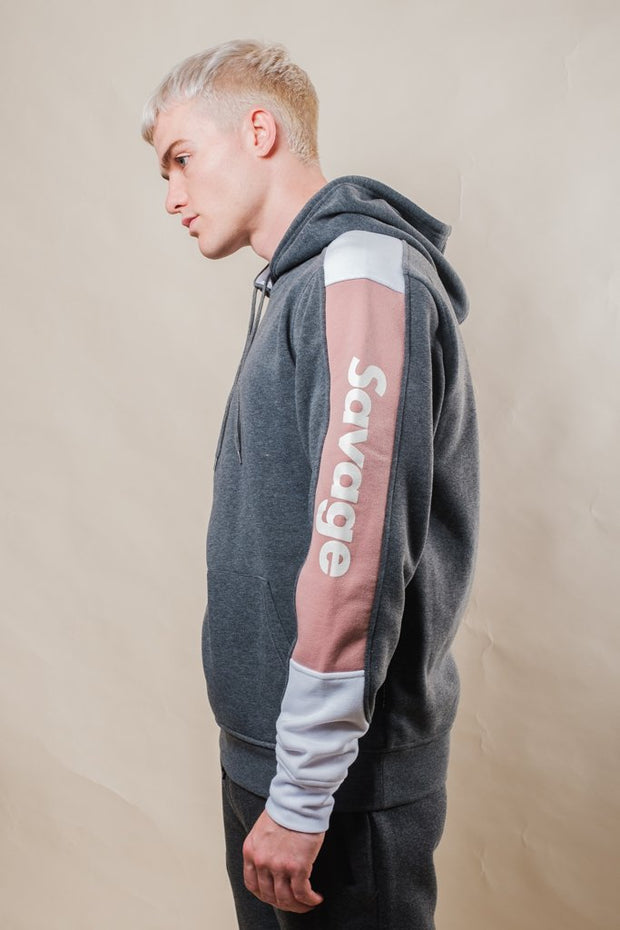 Charcoal Grey Savage Hoodie for Men
