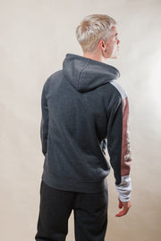 Men's Charcoal Grey Savage Hoodie
