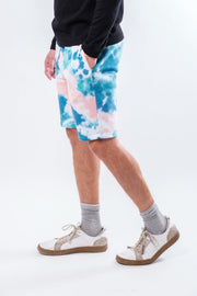 Tie Dye Fleece Shorts