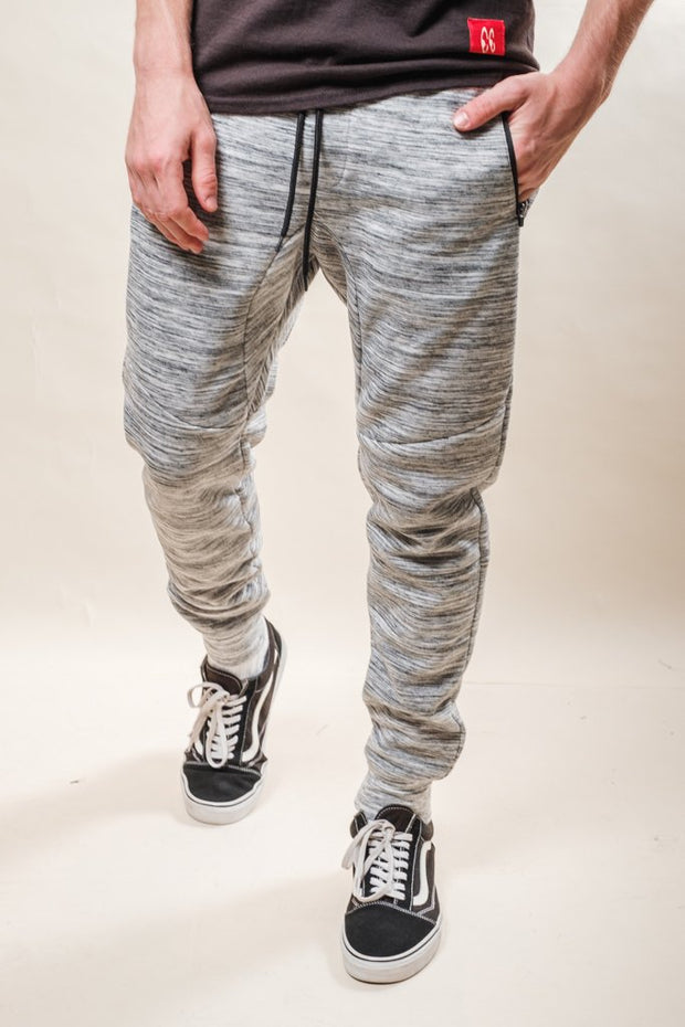 Natural Space Dye Fleece Jogger Pants