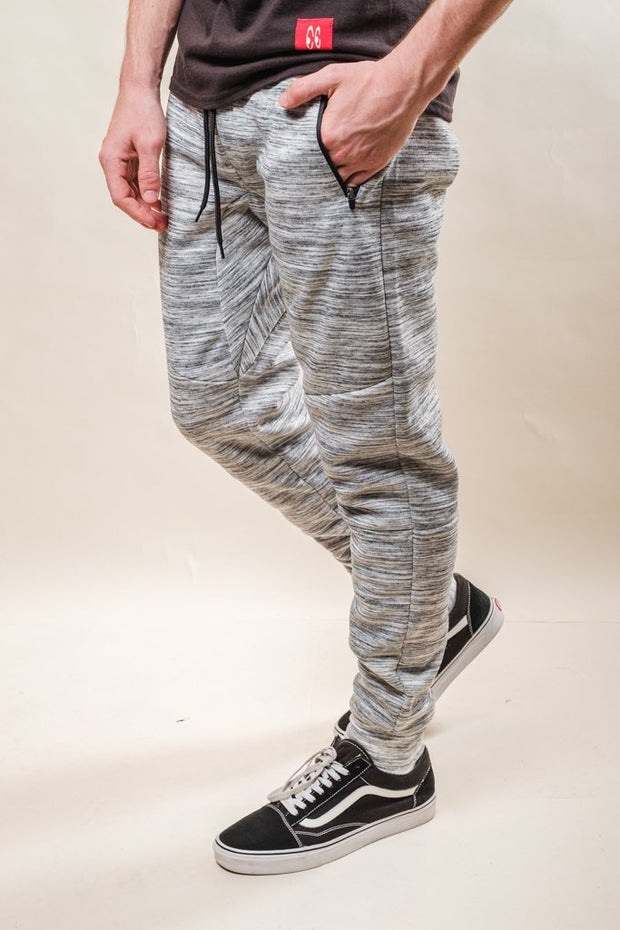 Natural Space Dye Fleece Jogger Pants for Men