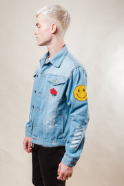 Brooklyn Cloth No Bad Vibes Denim Jacket