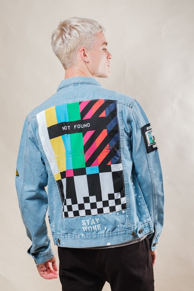 Stay Woke Denim Jacket