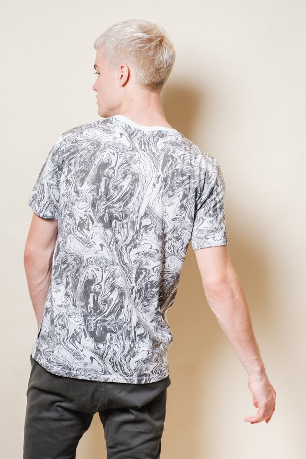 Men's Oil Slick Print Tee
