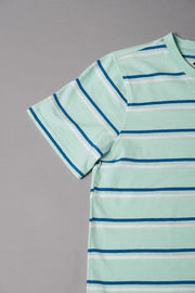 Boys Mint Striped T-Shirt