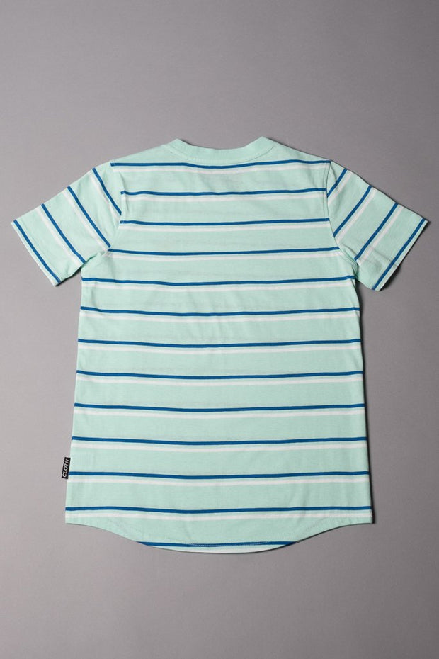 Brooklyn Cloth Boys Mint Striped T-Shirt