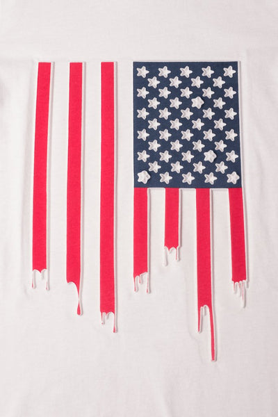 Boys American Flag Graphic Tee