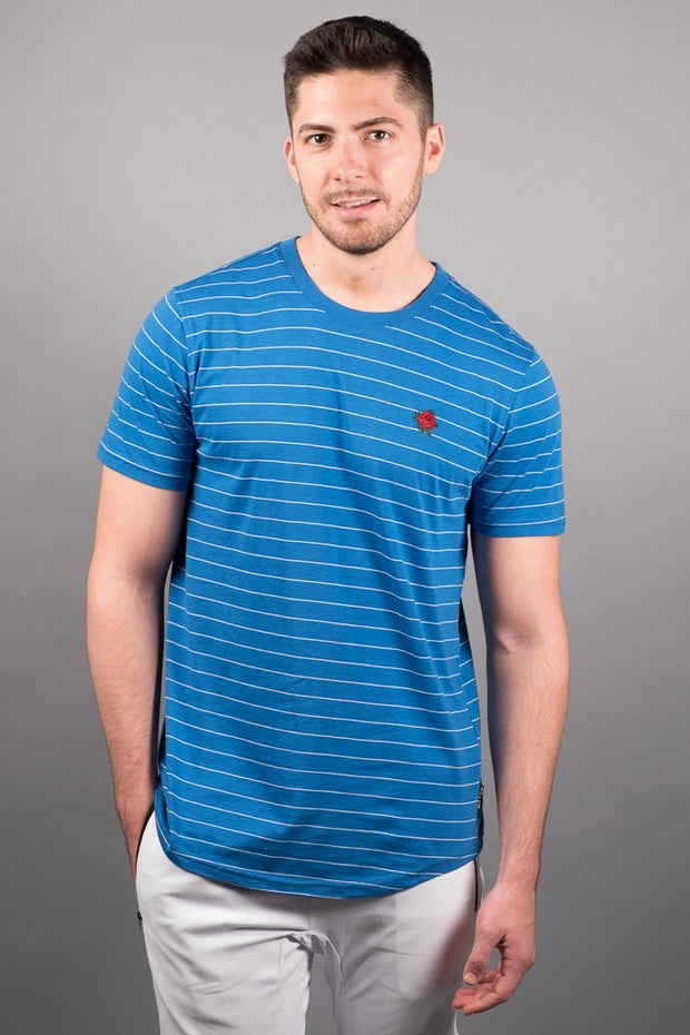 Royal Blue Stripe Tee