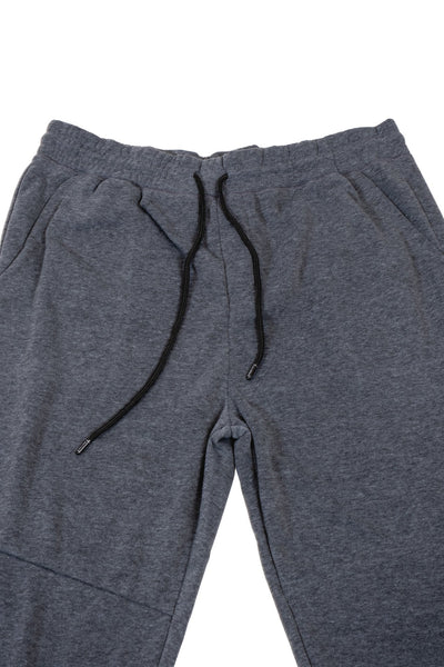 Twill Jogger Pants for Men in Charcoal