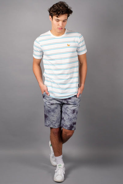 Brooklyn Cloth Charcoal Grey Tie Dye Shorts for Men