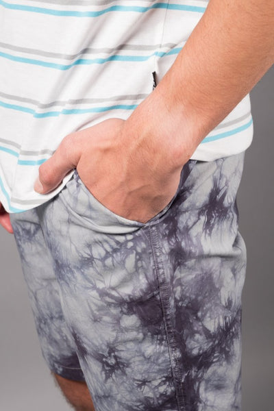 Brooklyn Cloth Charcoal Grey Tie Dye Shorts