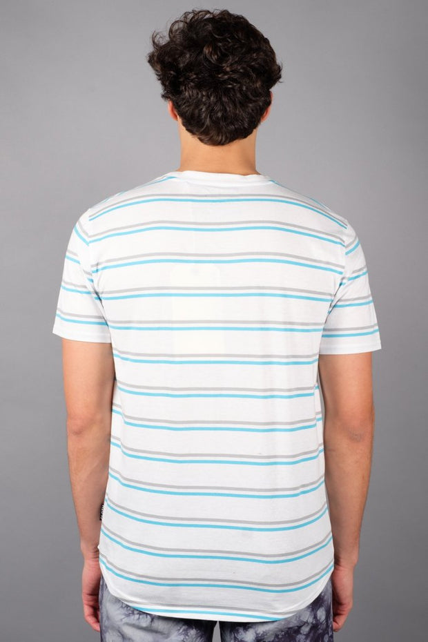 Banana Embroidered Stripe Tee at Brooklyn Cloth